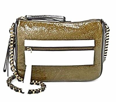 $89.99 • Buy Treesje Morale Crackled Patent Leather Crossbody Bag New With Tags NWT