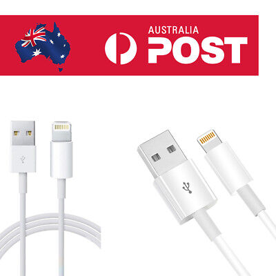 AU7.99 • Buy Genuine IPhone Apple Lightning USB Cable Charging For 11 Pro/XS/XR/8/6 IPad Mini