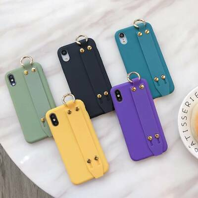 AU7.47 • Buy For IPhone 11 Pro Max 8 Plus 7 XS Max XR Wrist Strap Girls Cute Phone Case Cover