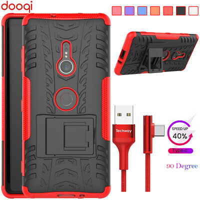 AU9.56 • Buy For Sony Xperia 10 XA1 XA2 Plus/L3 L2 L1/XZ3 XZ2 Shockproof Case+One Cable(6ft)