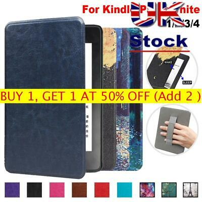 Leather Magnetic Smart Case Cover For Amazon Kindle Paperwhite 1/2/3/4 2018 • 6.09£