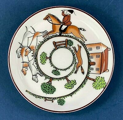 Coalport Hunting Scene 56 Trinket Dish - PERFECT • 7.50£
