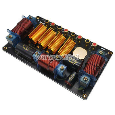 $ CDN126.52 • Buy 2000W Dual Bass 2 Way 3 Unit High-Low Speaker Frequency Divider Crossover Filter