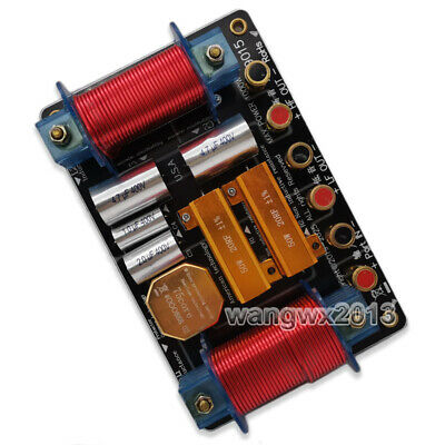AU93.51 • Buy 1x 1000W 2 Way 2 Unit High-Low Audio Speaker Frequency Divider Crossover Filter