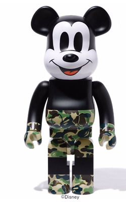 $1691.10 • Buy A Bathing Ape MICKEY MOUSE 1000% BE@RBRICK GREEN MEDICOM TOY ACTION FIGURE