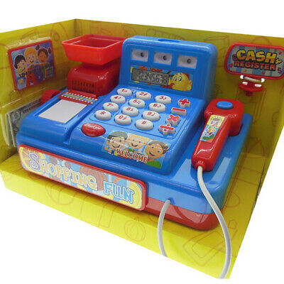 £12.30 • Buy Supermarket Till Kids Cash Register Toy Gift Set Child Shop Role Play Learn Chee