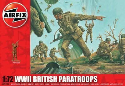 Airfix 01723 1:72nd Scale WWII British Paratroops Figures • 6.49£