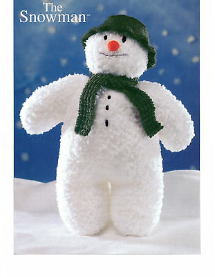 £1.50 • Buy Knitting Pattern - The Christmas Snowman Soft Toy  Dk  Approx 16  Tall