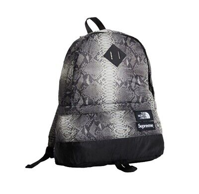 $ CDN228.10 • Buy Supreme The North Face Printed Snakeskin Black Daypack Backpack SS '18 TNF