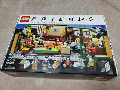 $83 • Buy Lego 21319 Friends Central Perk Cafe Ideas Set Brand New Sealed