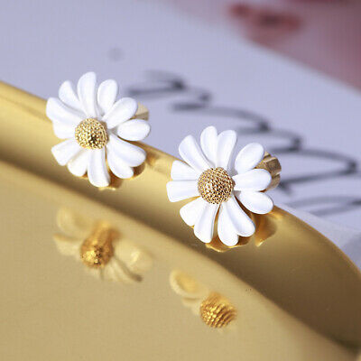 $ CDN22.18 • Buy Kate Spade White And Gold Into The Bloom Studded Earrings On Card W/ Gift Box