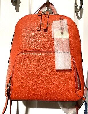 $ CDN374.86 • Buy Kate Spade Red Leather Backpack Purse