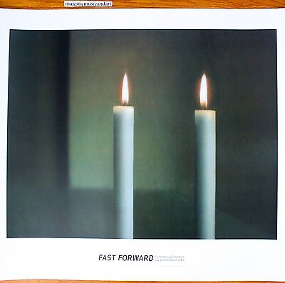 $99.99 • Buy Gerhard Richter Two Candles 2007 Exhibition Poster