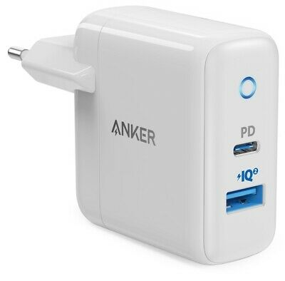 AU51.52 • Buy ANKER PowerPort II With Power Delivery 33W PD USB-C TYPE-C Wall Charger EU Plug