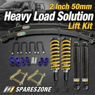 AU1195 • Buy 2 Inch Lift Kit EFS Leaf Constant Extra HD Load Option For Hilux GGN25 KUN26