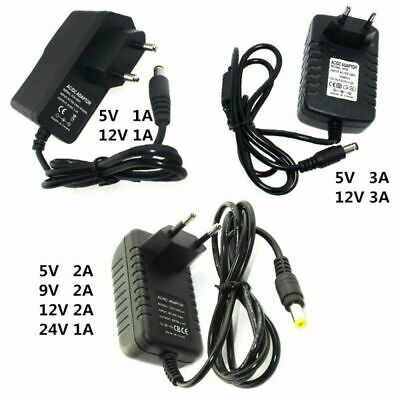 $ CDN3.66 • Buy Power Supply Charger Adapter DC 5V 9V 12V 24V1A 2A 3A Adaptor DC 5 9 12 24V Volt