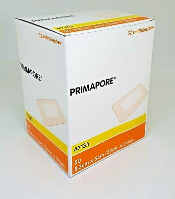 £3.75 • Buy Primapore Adhesive Wound Dressing | Strong Adhesive | Absorbent | S / M / L / XL