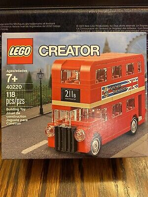 $ CDN31.88 • Buy LEGO 40220 Creator Double Decker London Bus - Brand New Sealed