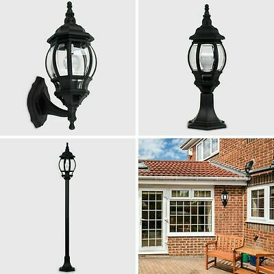 MiniSun Outdoor LED IP44 Patio Light Set Wall Fitting Rainpoof Post Lantern Lamp • 16.99£