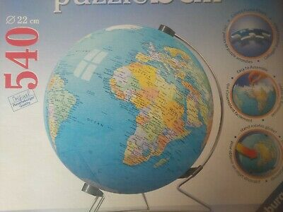 Ravensburger Puzzleball Puzzle Ball The Earth With Display Stand New Sealed • 29.99$