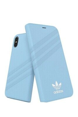 AU23.61 • Buy Adidas Blue Booklet Suede For IPhone X Case $55