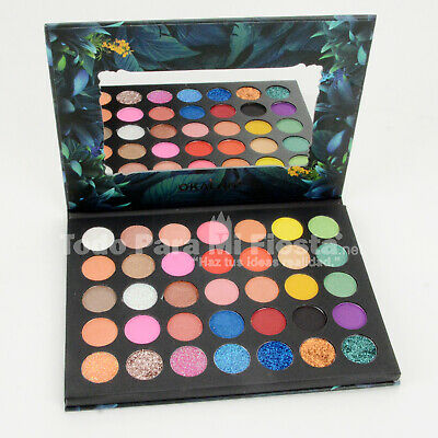 AU19.36 • Buy Okalan Color Burst Eyeshadow Palette Beauty Colors Glitter Matte Shimmer