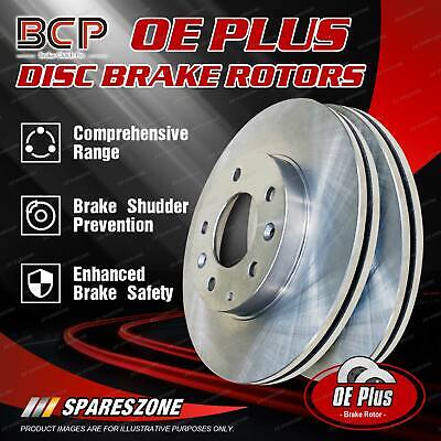 AU119.33 • Buy Front Pair Disc Brake Rotors For Nissan Maxima J30 2/90 - 10/94 BCP Brand