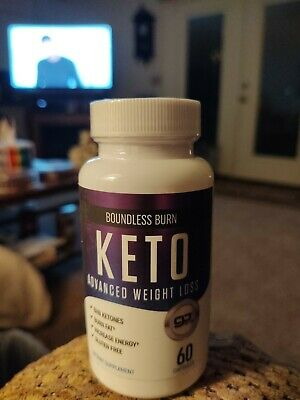 Boundless Burn - Keto Advanced Weight Loss 60 Capsules Exp 01/2021 • 10.99$