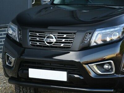 Front Grill - Black To Fit Nissan Navara Np300 2015 Onwards • 84£