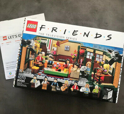 New Sealed Unopened LEGO IDEAS Friends 25th Anniversary Central Perk 21319 • 69.99$