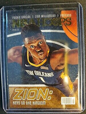 Zion Williamson Sp Insert Keys To The Kingdom 2019 Nba Hoops New Orleans... • 10.50$