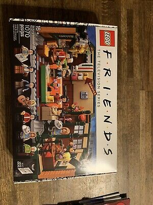 Lego Friends Central Perk Cafe Ideas Set 21319 Factory Sealed IN HAND • 61$