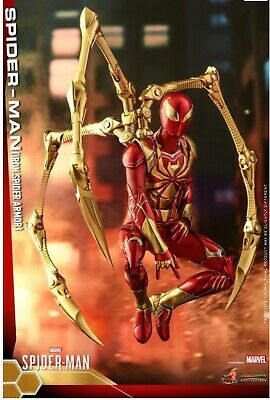 HOT TOYS 1/6 VGM38 Spider-Man Iron Spider Armor Figure New* With Shipper • 299.99$