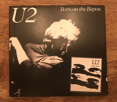 U2 Born On The Bayou - Boy Tour Live Concert CD - Washington 03/03/81 • 24.99$