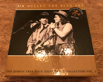 U2 Bullet The Blue Sky - Joshua Tree Tour Live Concert 12CD Box - Various USA • 79.99$