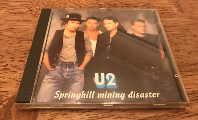 U2 Springhill Mining Disaster - Joshua Tree Tour Live Concert CD - Chicago 04/29 • 16.89$