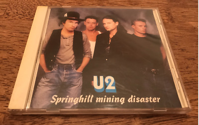 U2 Springhill Mining Disaster - Joshua Tree Tour Live Concert CD - Chicago 04/29 • 18.99$