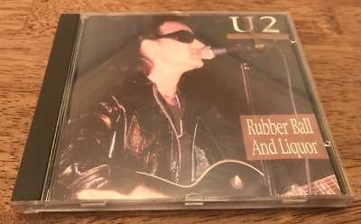 U2 Rubber Ball And Liquor - ZOO TV Tour Live Concert CD - Atlanta 03/05/92 • 19.99$