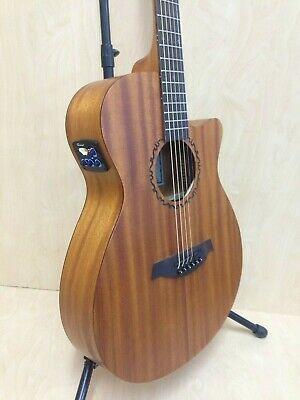 AU214 • Buy Caraya Safair 40  CEQ All Mahogany Thin-body Acoustic Guitar,Cutaway,EQ+Free Bag