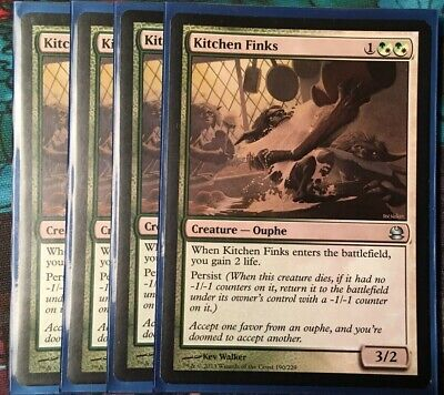 $7.99 • Buy 4X Kitchen Finks Modern Masters  MTG LP/NM