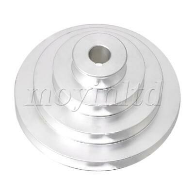 AU36.16 • Buy Aluminum Silver 4 Step Pagoda Pulley Belt For Machine Tools 16mm