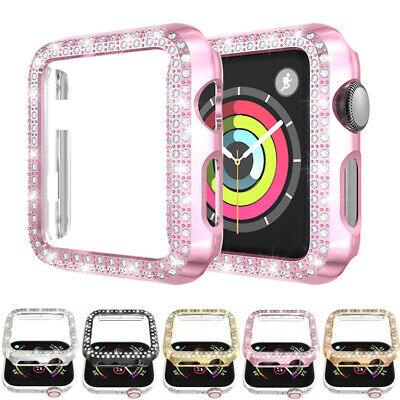 $ CDN5.11 • Buy For Apple Watch Series 5 4 3 2 Bling Diamond Case Protective Cover Bumper Frame