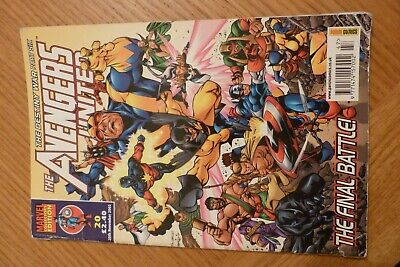 The Avengers United Marvel Comic Collectors Edition 2002 • 3£