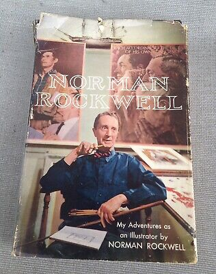 $ CDN125.31 • Buy Norman Rockwell My Adventures As An Illustrator SIgned 1960 First Edition Hb/Dj