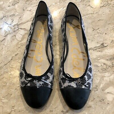 Sam Edelman Sara Spotted Sequined Ballet Flats, Size 9 - Lovely! • 9.99$