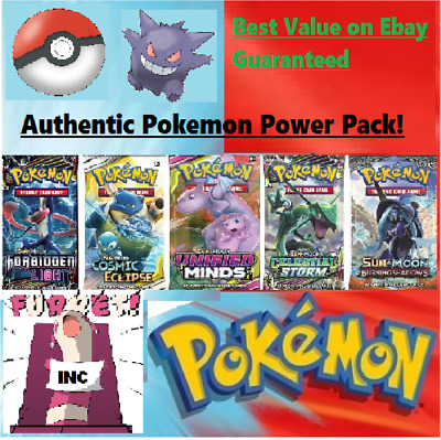 $ CDN39.44 • Buy Pokemon Mystery Power Packs - 5 Booster Packs - 1:2 Boxes Guaranteed Vintage!