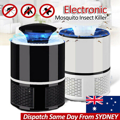 AU13.95 • Buy USB Mosquito Insect Killer Electric LED Light Fly Bug Zapper Trap Catcher Lamp