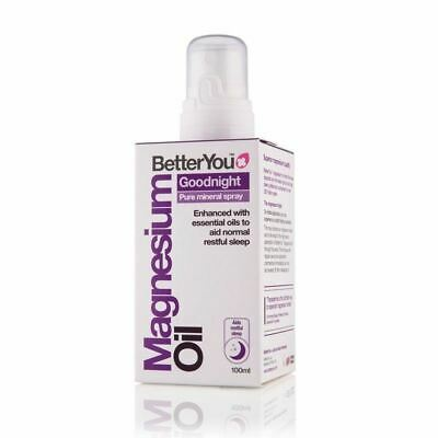Better You Magnesium Oil Goodnight Mineral Spray 100ml New • 13.94£