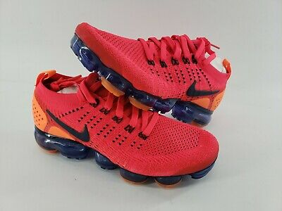 Nike Air Vapormax Flyknit 2.0 Red Orbit Obsidian AR5406 600 - Size 8 Men • 40$