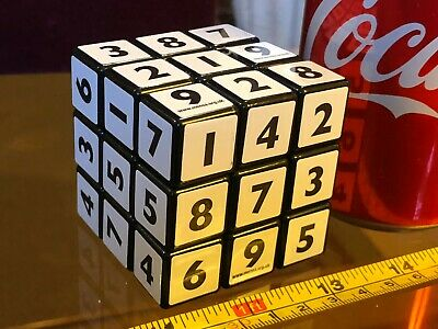 Sudoku Puzzle Cube Numbers Mensa Official Cube Puzzle Difficult Used • 7.66£